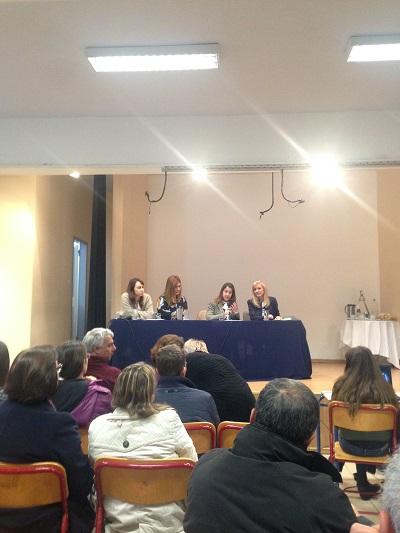 ΔΙΑΤΡΟΦΗ - Participation of the Prolepsis Institute at a school